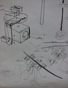 Mecanique Caméra sur Fil